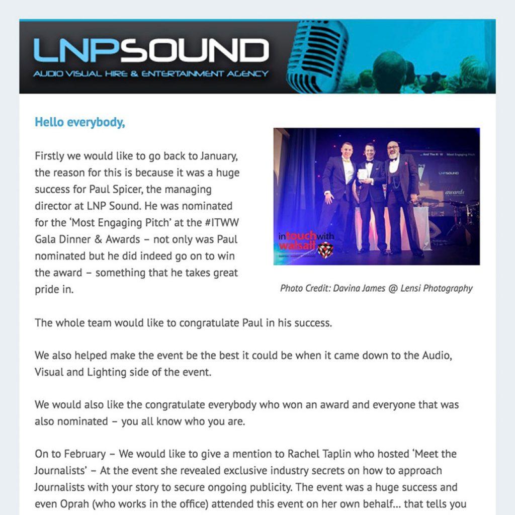 Email Newsletters - Nathan Littleton - Marketing Speaker